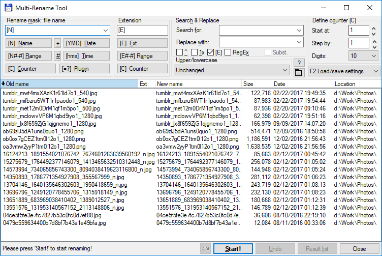 How to batch rename multiple files in Windows?