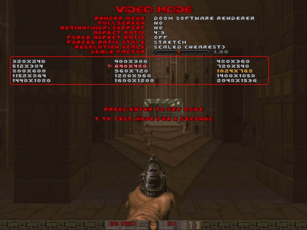 Doom 2 video mode